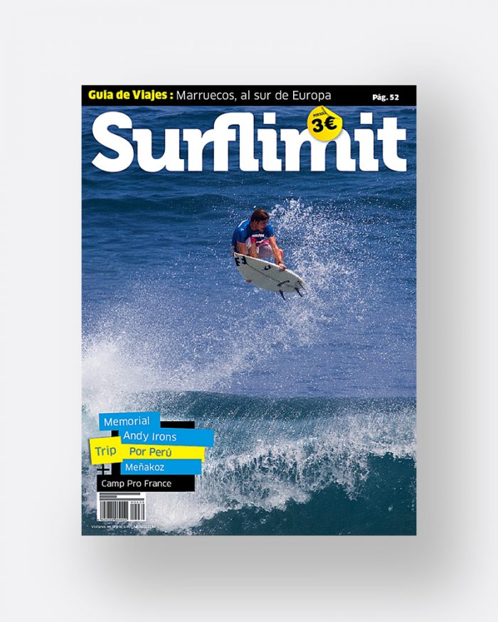 Revista numero 40 revista surf limit magazine revista surf en español