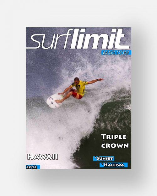 Revista Surf Limit Magazine del año 2012