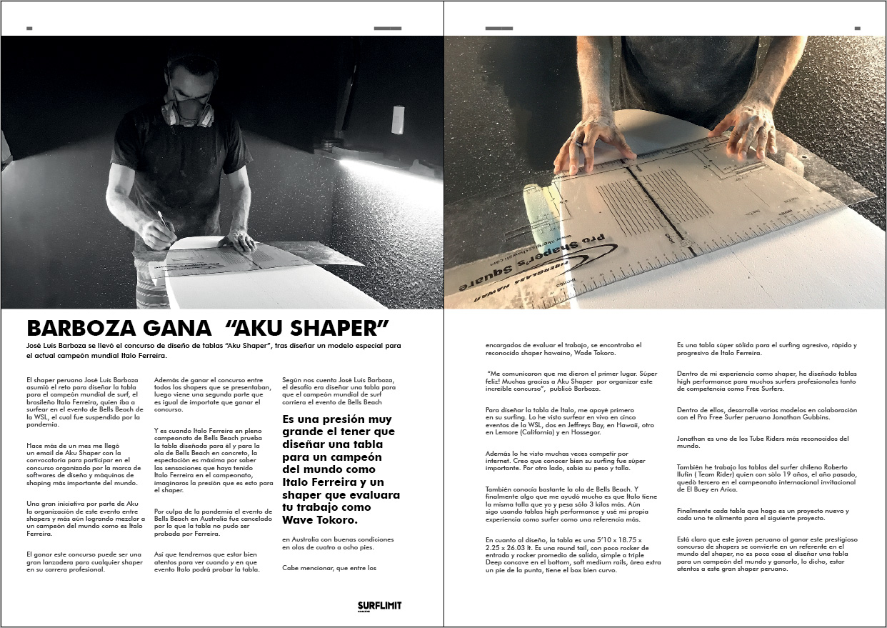 Shaper surf limit magazine